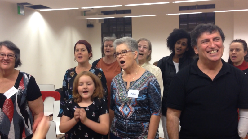 "One Voice Choir is a ""big book of Australia"""